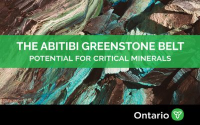 Potential for raw material used in electric vehicle batteries in the Abitibi Greenstone Belt, Northern Ontario