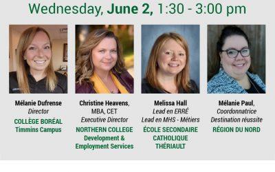 Career Fair – Panel Speakers